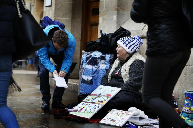 Oxford Mail: Oxford Mail reporter Harrison Jones talks to a local street artist about the issue