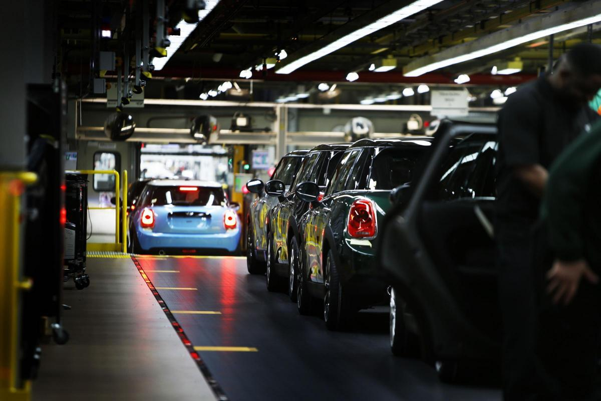 The BMW Mini plant in Oxford is a major employer Pic Ed Nix