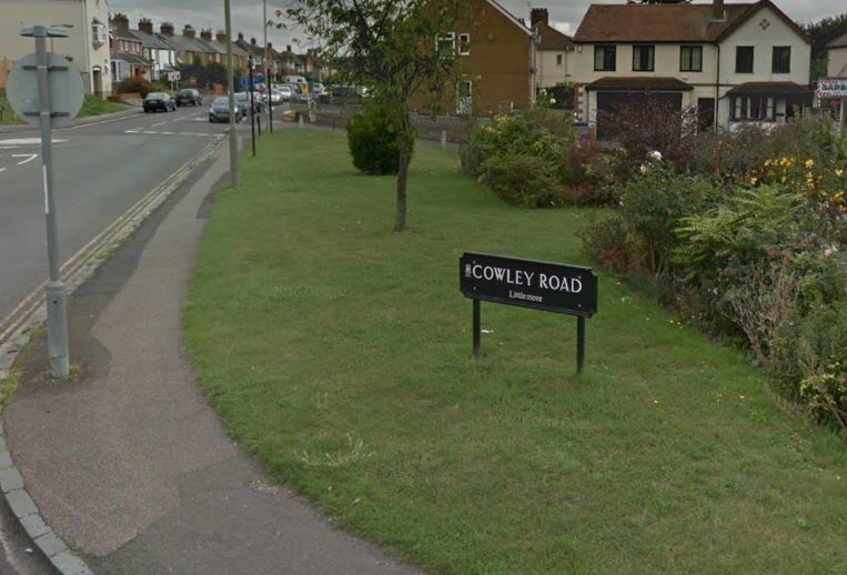 Cowley Road in Littlemore - not to be confused with 'the' Cowley Road in East Oxford. Pic: Google Maps