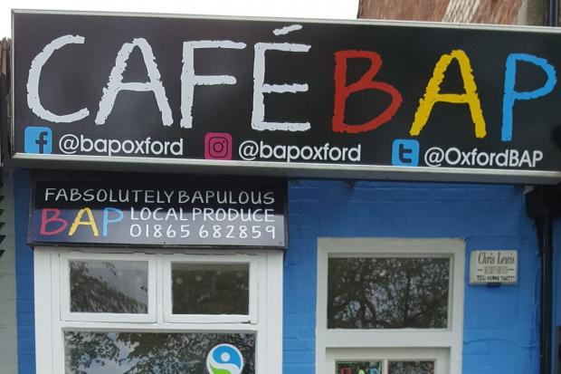 Cafe Bap - free hot drink