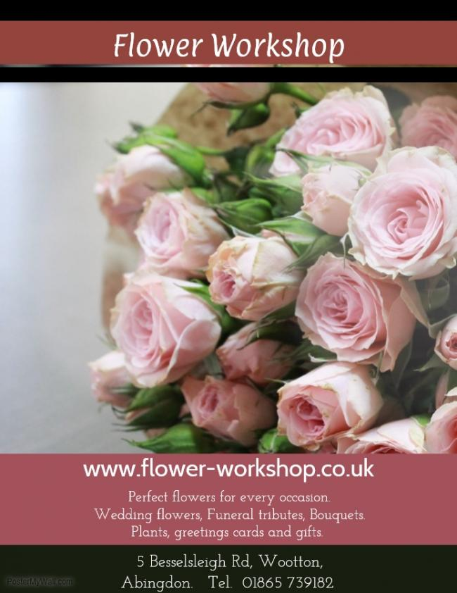 Flower Workshop - 10% off