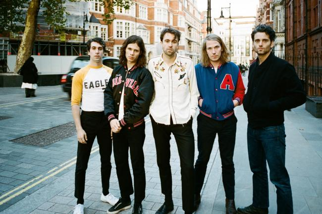 Feisty performers: The Vaccines