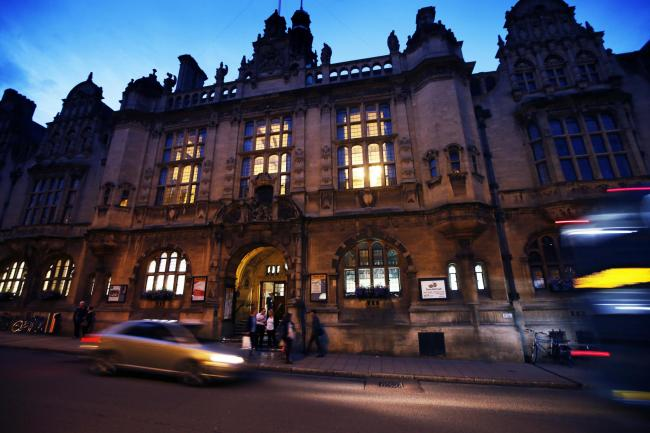 Oxford Town Hall. Picture: Ed Nix