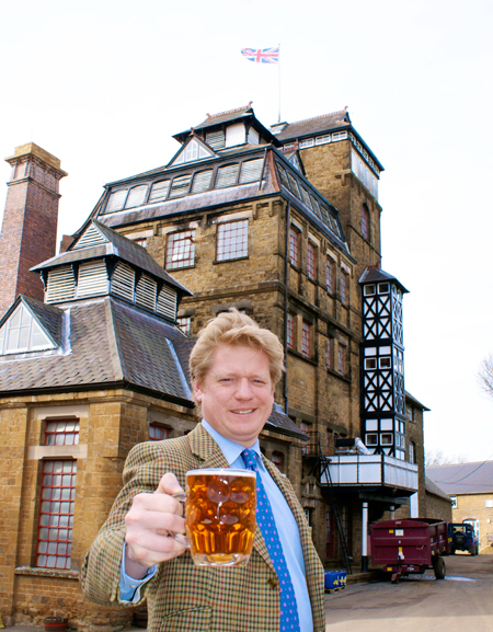 James Clarke at Hook Norton Brewery.