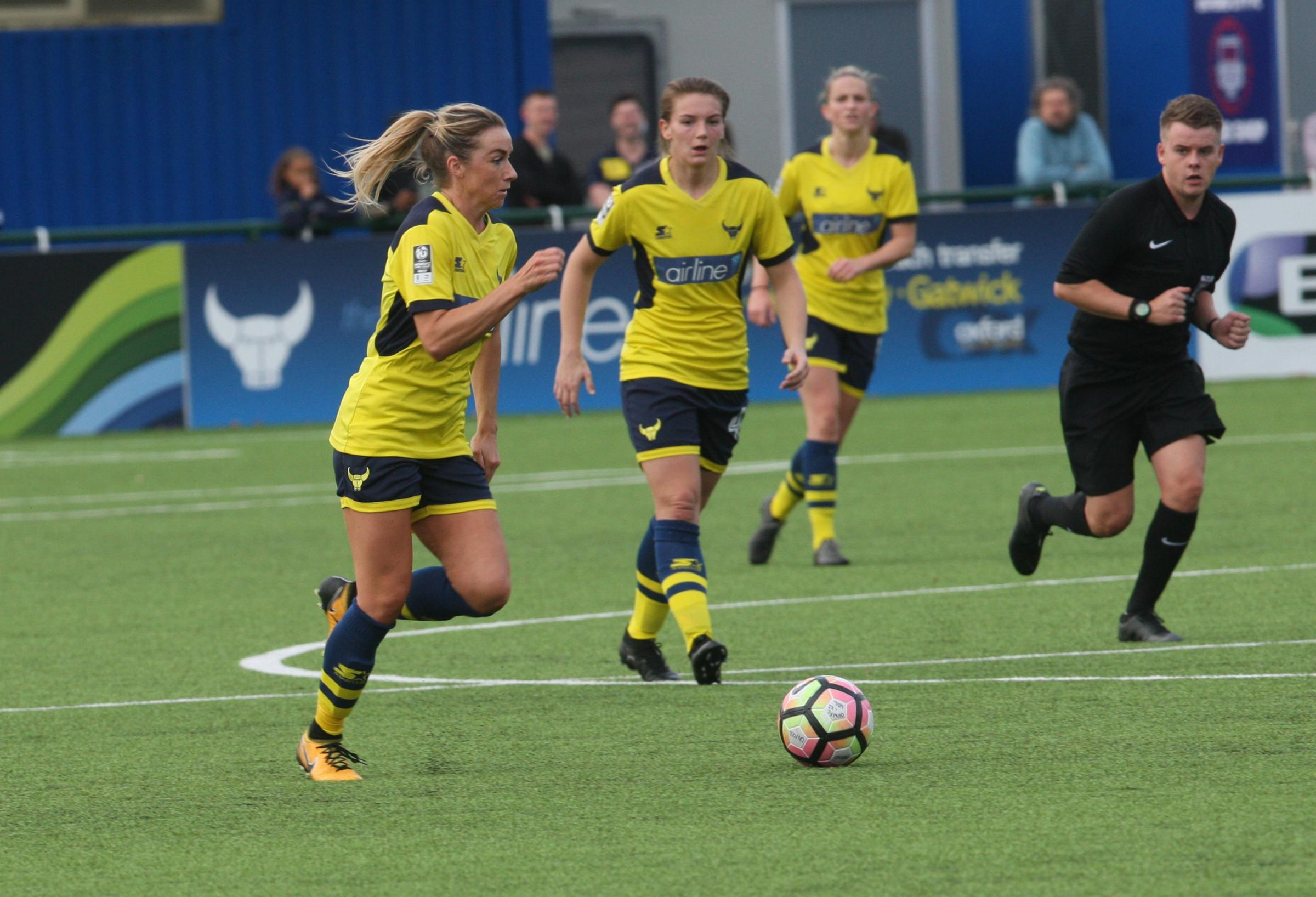 Emily Allen opened the scoring for Oxford United