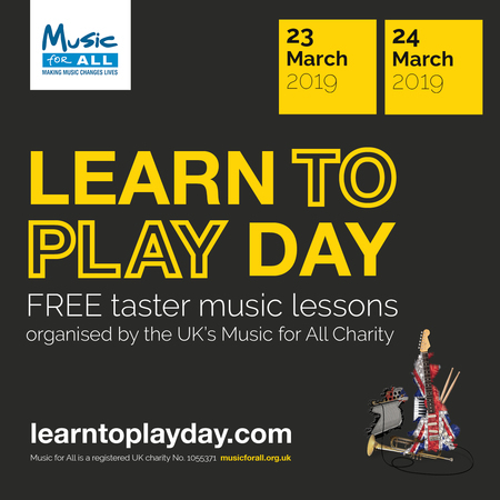 Learn to Play Day is coming to Berkshire