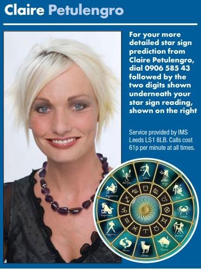 claire petulengros horoscopes