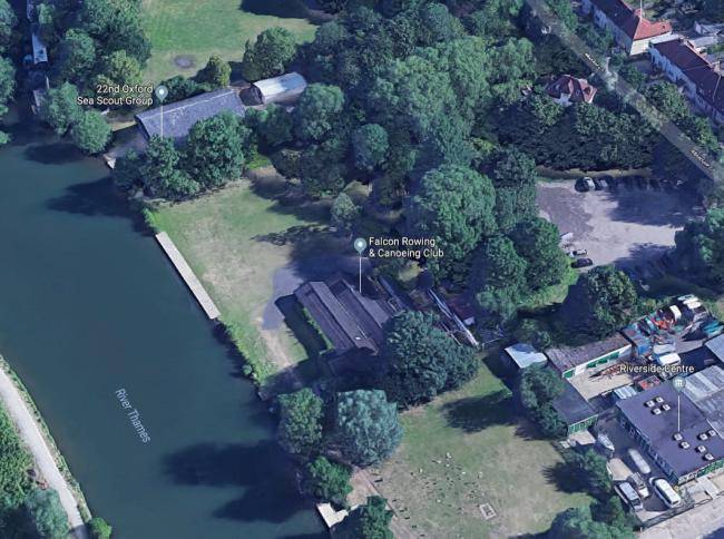 Falcon Rowing and Canoeing Club. Pic google maps