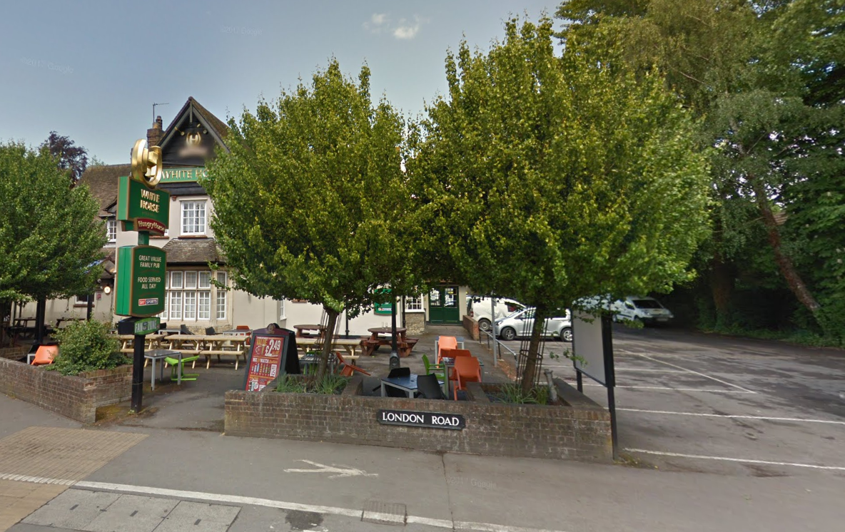 Closed for two weeks: The White Horse on London Road in Headington