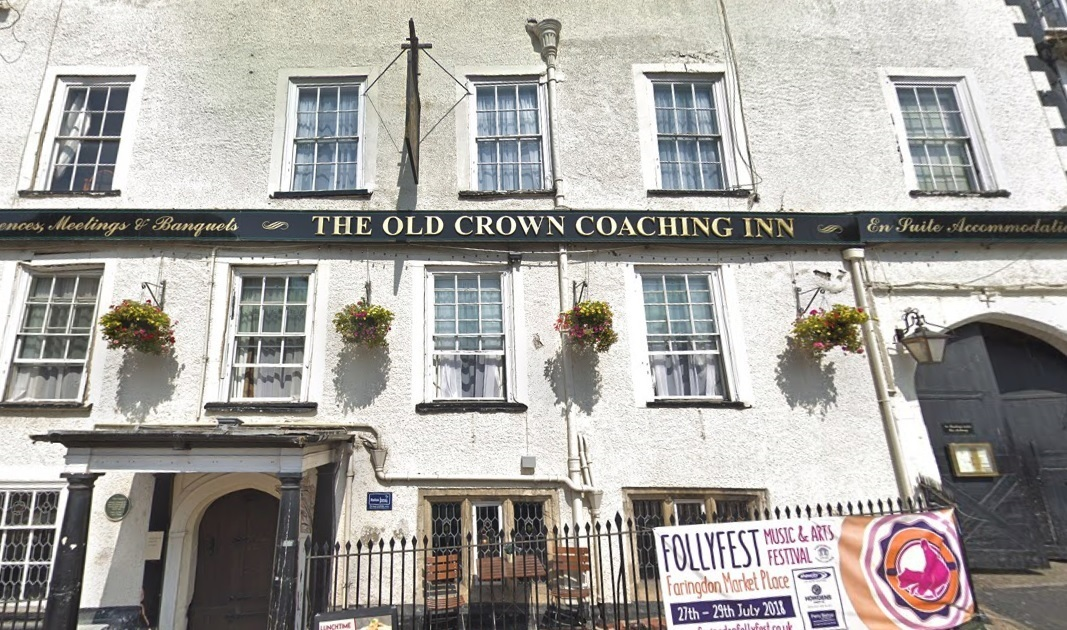 The Old Crown pub in Faringdon Market Place. Picture: Google Maps