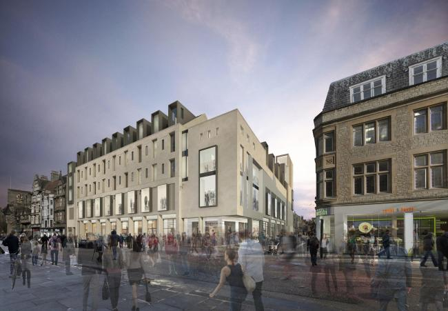 An artist's impression of the Northgate House scheme Pic MICA Architects