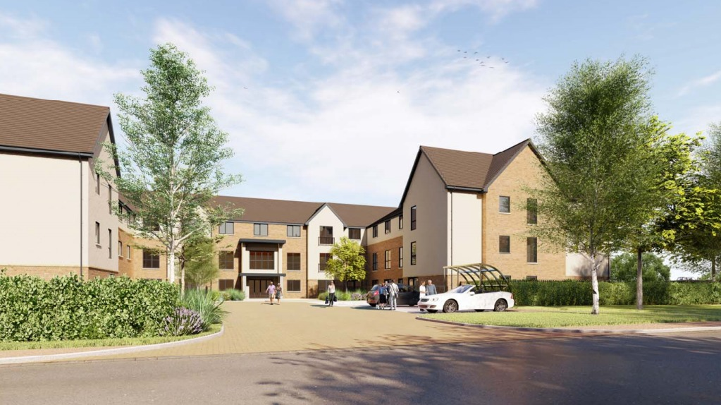 How the new care home might look if the plan is approved
