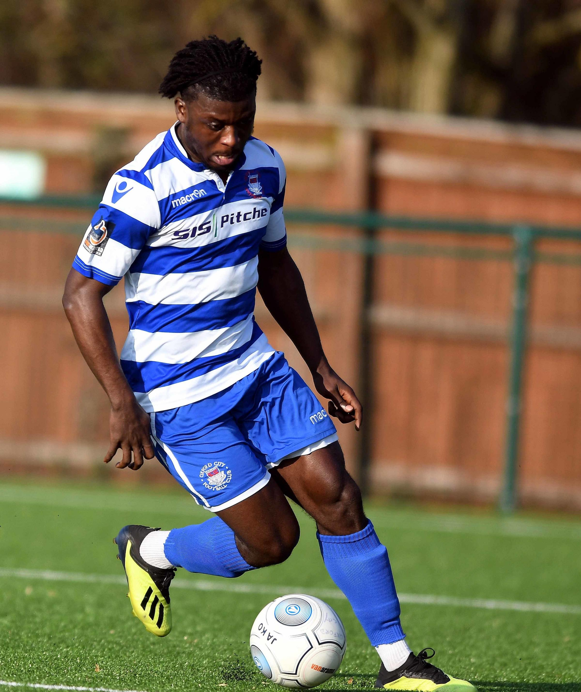 Kabongo Tshimanga was on target to give Oxford City a first league win of 2019