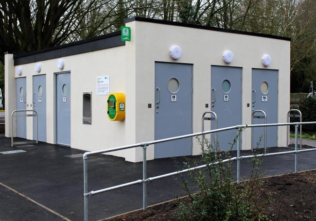 Abbey Meadow toilets Picture Vale of White Horse District Council