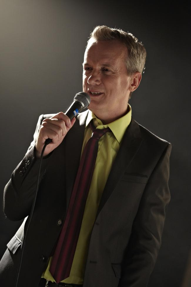 Frank Skinner brings his show to the New Theatre Oxford tomorrow. Tickets from atgtickets.com