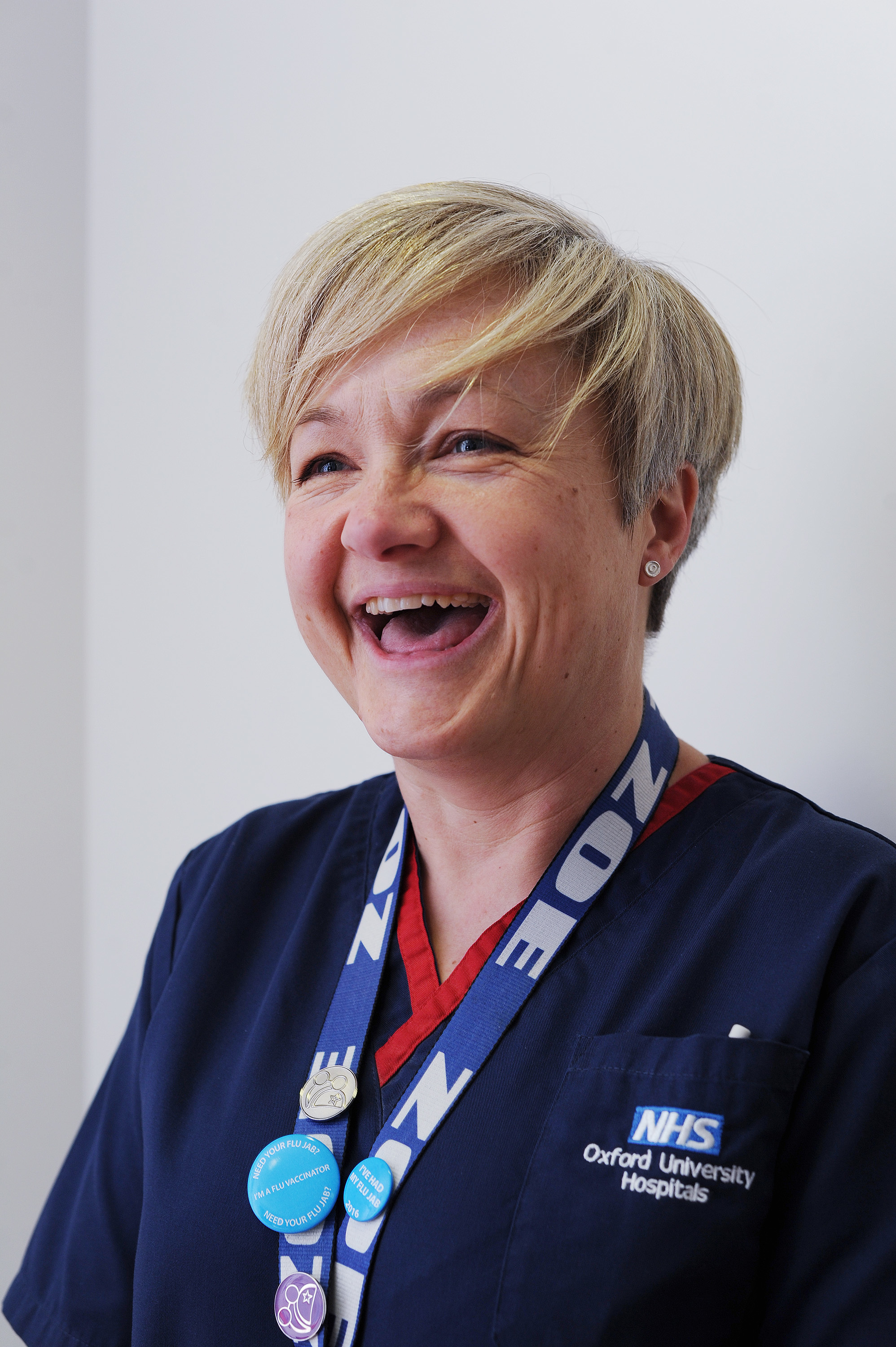 Oxford Children's Hospital matron thanks OX5 runners for support