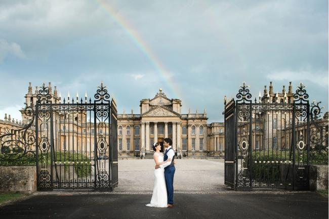 Blenheim Palace wins best stately home wedding venue in the UK
