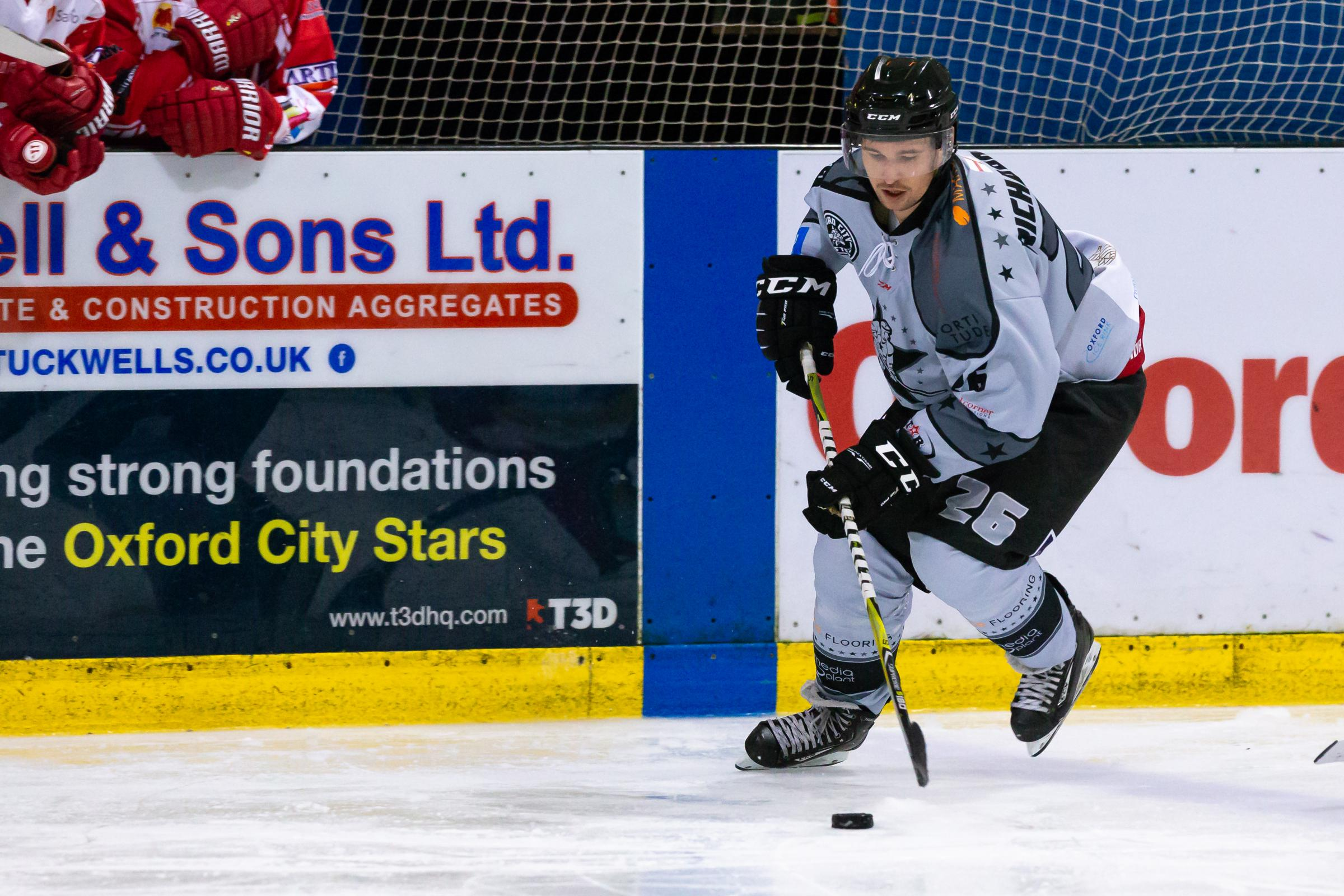 Oxford City Stars acting player-coach Lee Richardson