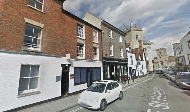 Number 7a East St Helen Street, Abingdon. Picture: Google Maps