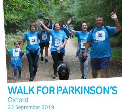 Walk for Parkinson's: Oxford