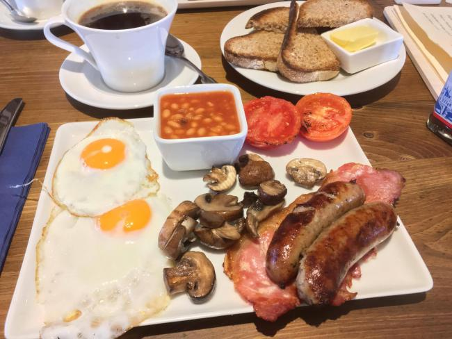 Food Review Farmhouse Bakery Cafe Steventon Oxford Mail