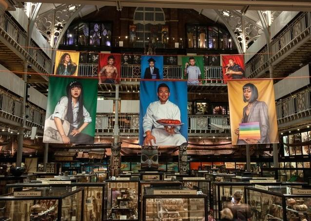 Performing Tibetan Identities exhibition at the Pitt Rivers Museum
