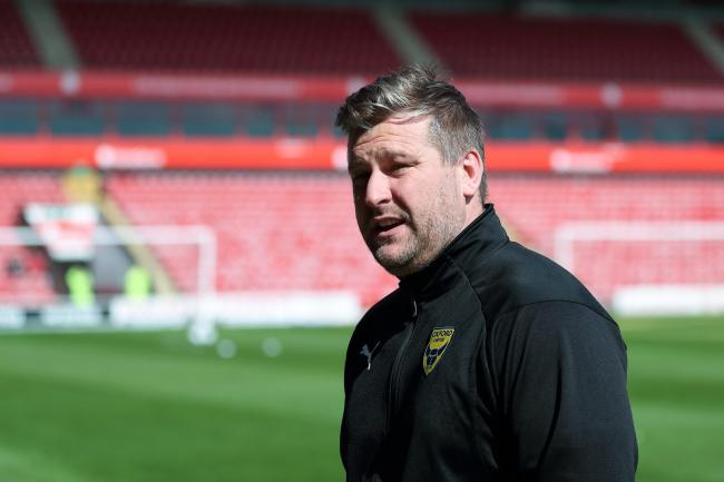 Oxford United head coach Karl Robinson is keen to make progress before pre-season    Picture: James Williamson