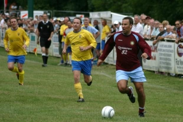 Oxford Mail: Paul Merson at Ribbesford Meadows.