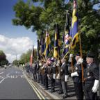 Oxford Mail: Veterans pay their respects