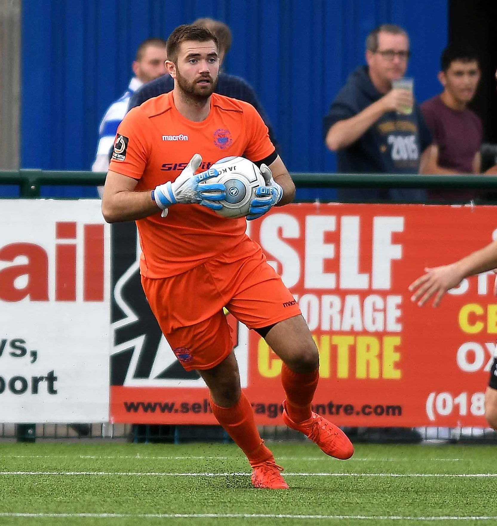 Oxford City goalkeeper Craig King played in England C's win at Kenilworth Road Picture: Mike Allen