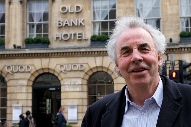 Jeremy Mogford, owner of the Quod bar and restaurant on the High Street, is looking forward to a branch of the Ivy opening just a few doors down.Picture: Ric Mellis.8/4/2019.