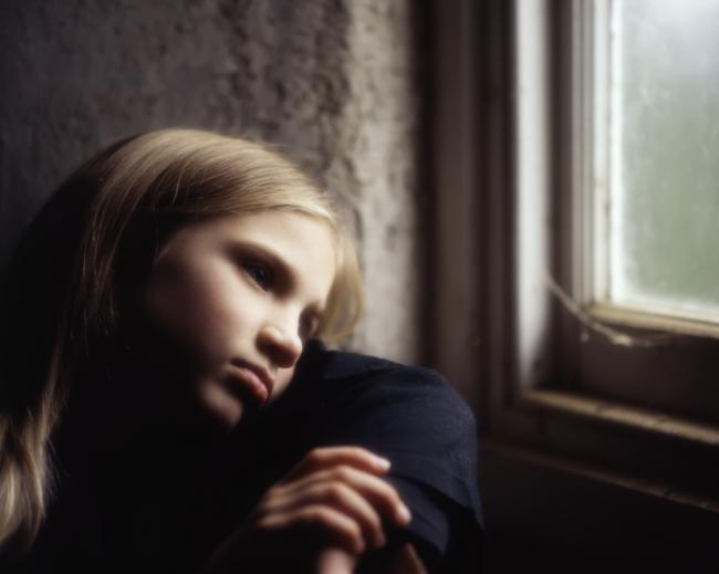 Generic child poverty image.