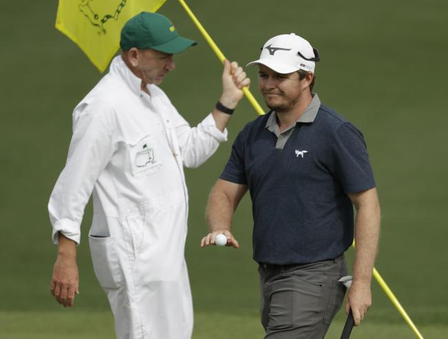 Eddie Pepperell at the Masters   Picture: AP Photo/Chris Carlson