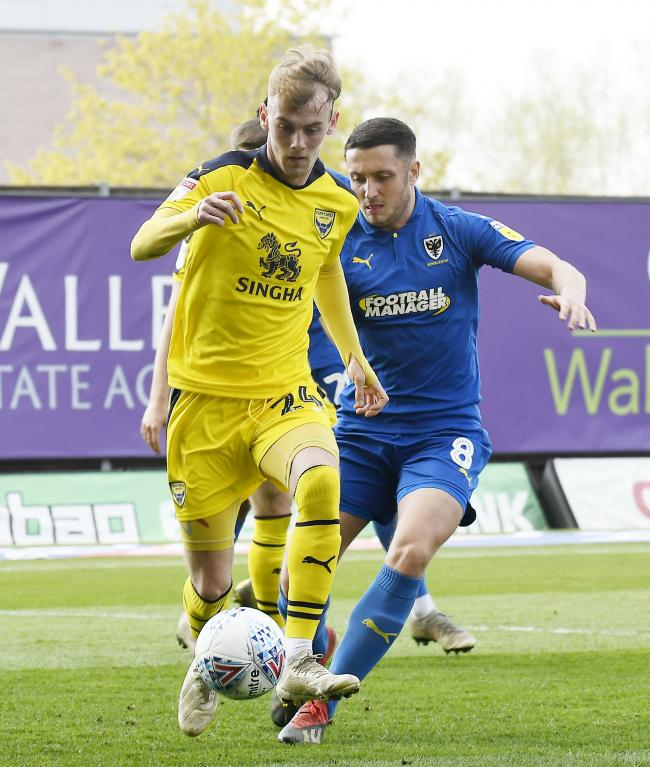 Mark Sykes impressed during Saturday's goalless draw with AFC Wimbledon Picture: David Fleming