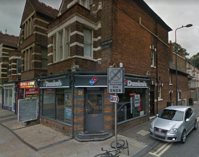 Gang attack man with 'metal object' outside Domino's