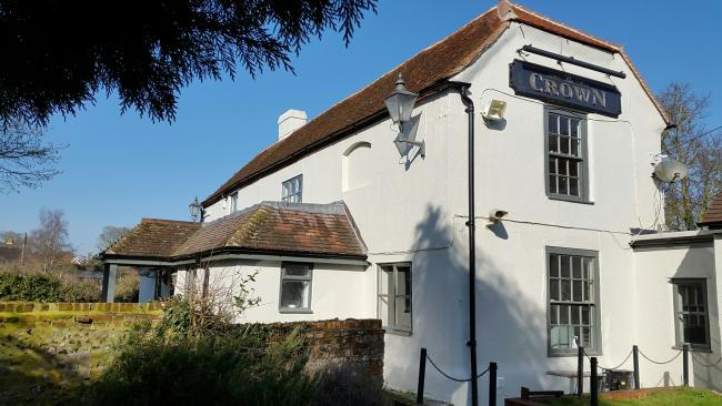 The Crown Pub after its revamp in South Moreton