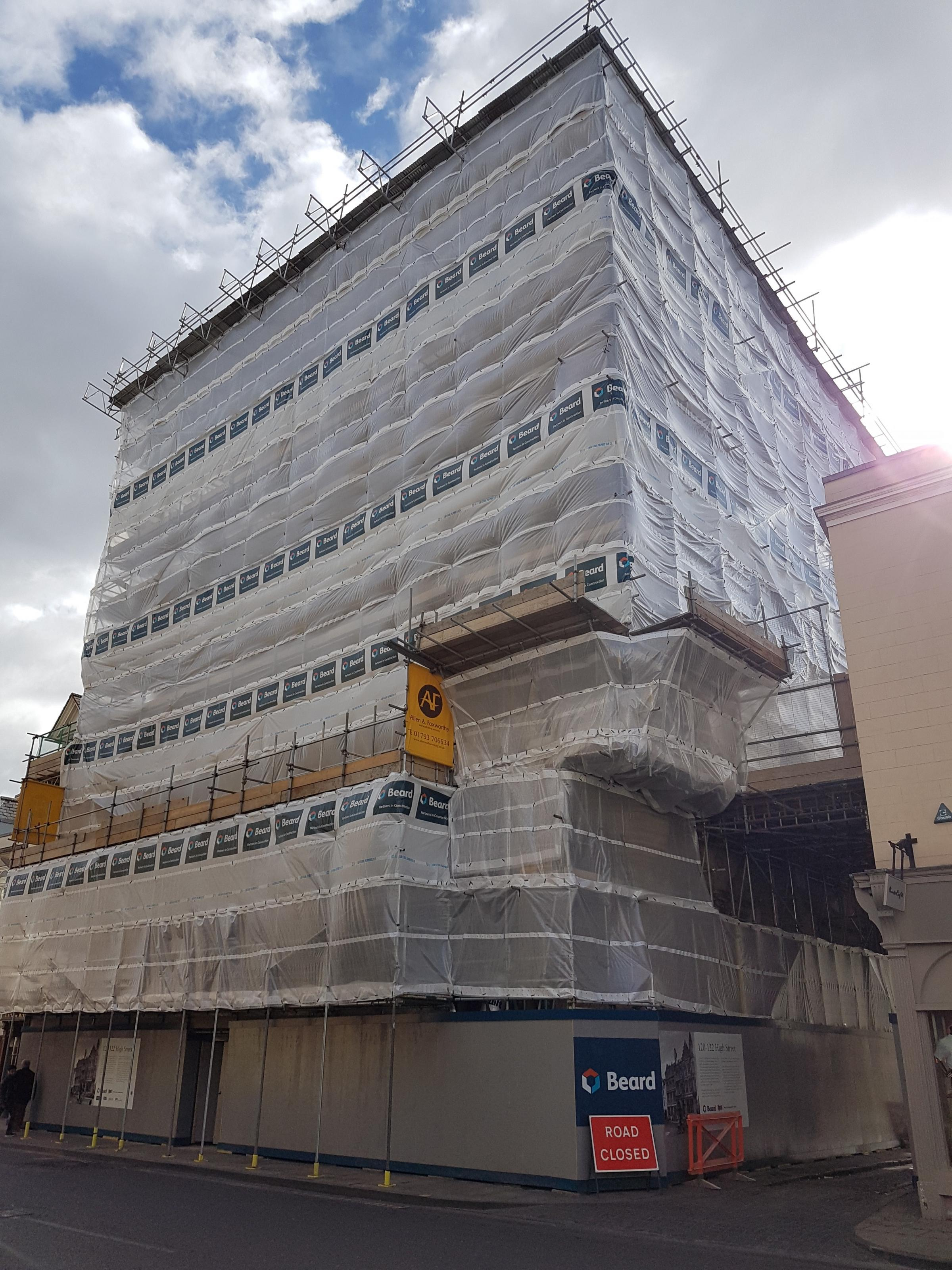 """""""Good progress"""" of Oxford NatWest conversion into The Ivy restaurant and luxury apartments"""