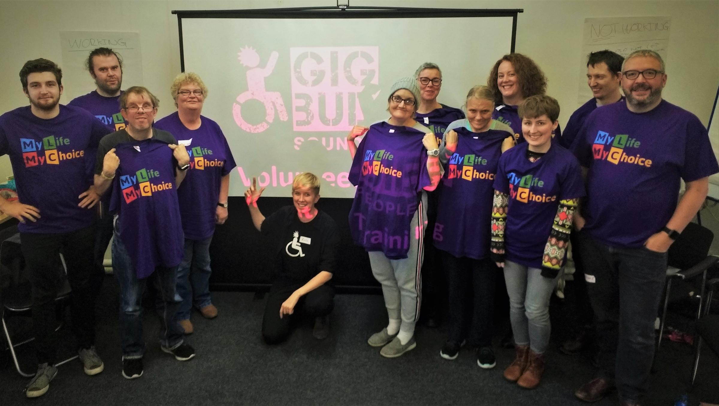 Gig Buddies call for more volunteers to sign up to network