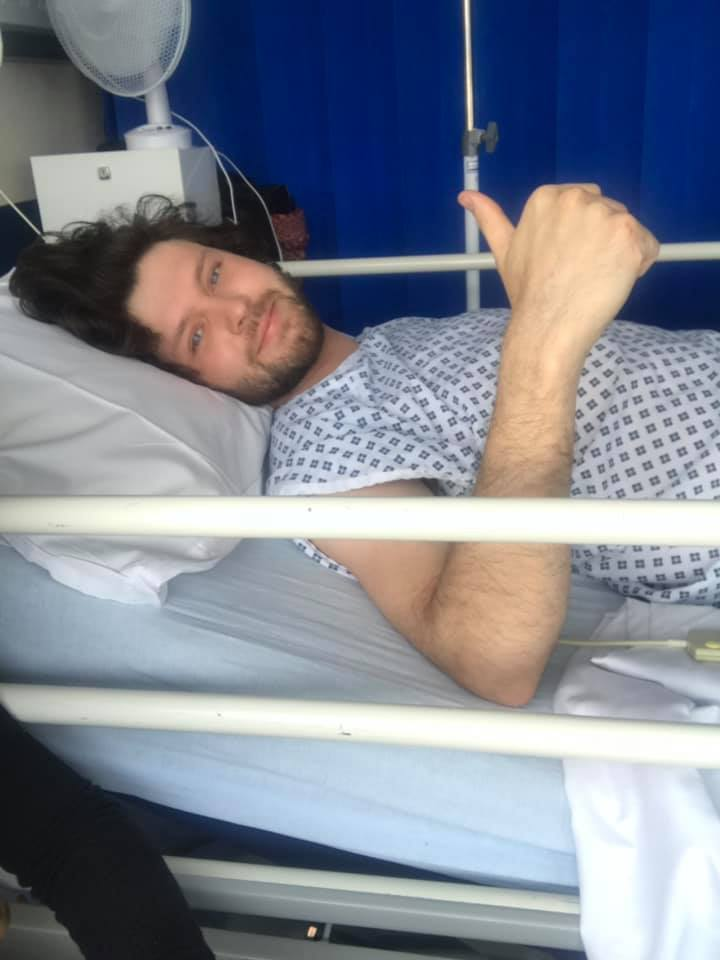 Witney stab victim Alex Train was in hospital for three days after the attack