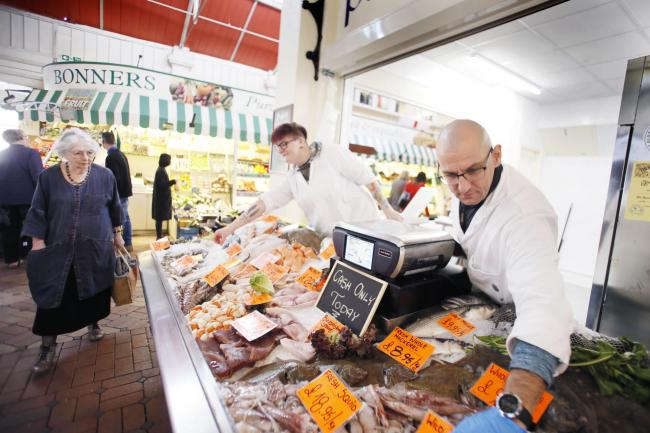 Pershore fishmonger opens at Oxford Covered Market | Oxford Mail