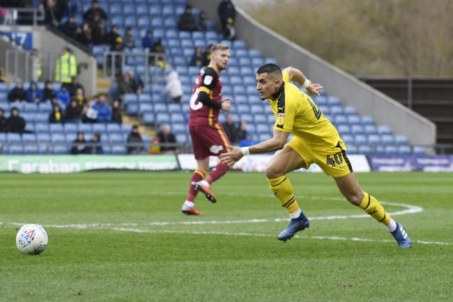 Ahmed Kashi is back in the Oxford United side today   Picture: David Fleming
