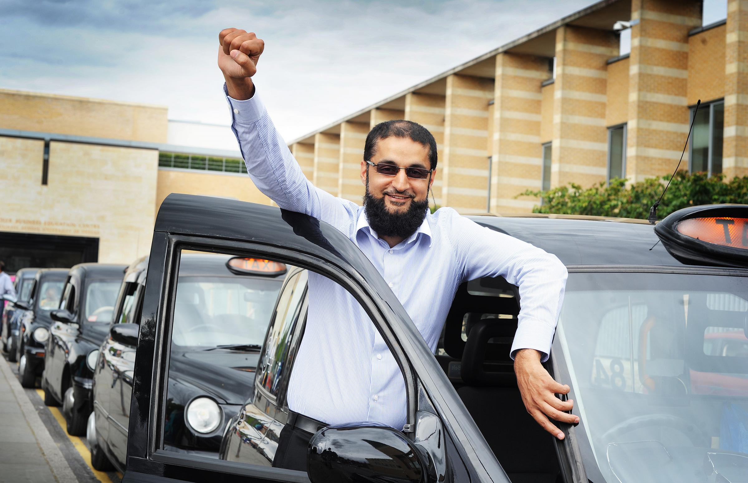 Sajad Khan, secretary of COLTA- the City of Oxford Licenced Taxicab Association. Pic: Jon Lewis