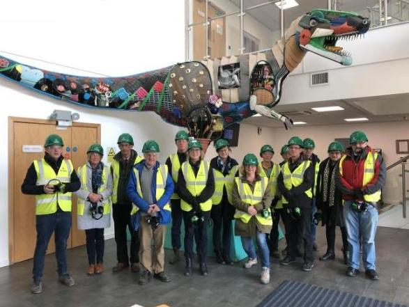 Duns Tew villagers visit Viridor Energy Recovery Facility