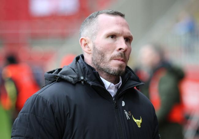 Michael Appleton led Oxford United to promotion from Sky Bet League Two in 2016 Picture: Richard Parkes