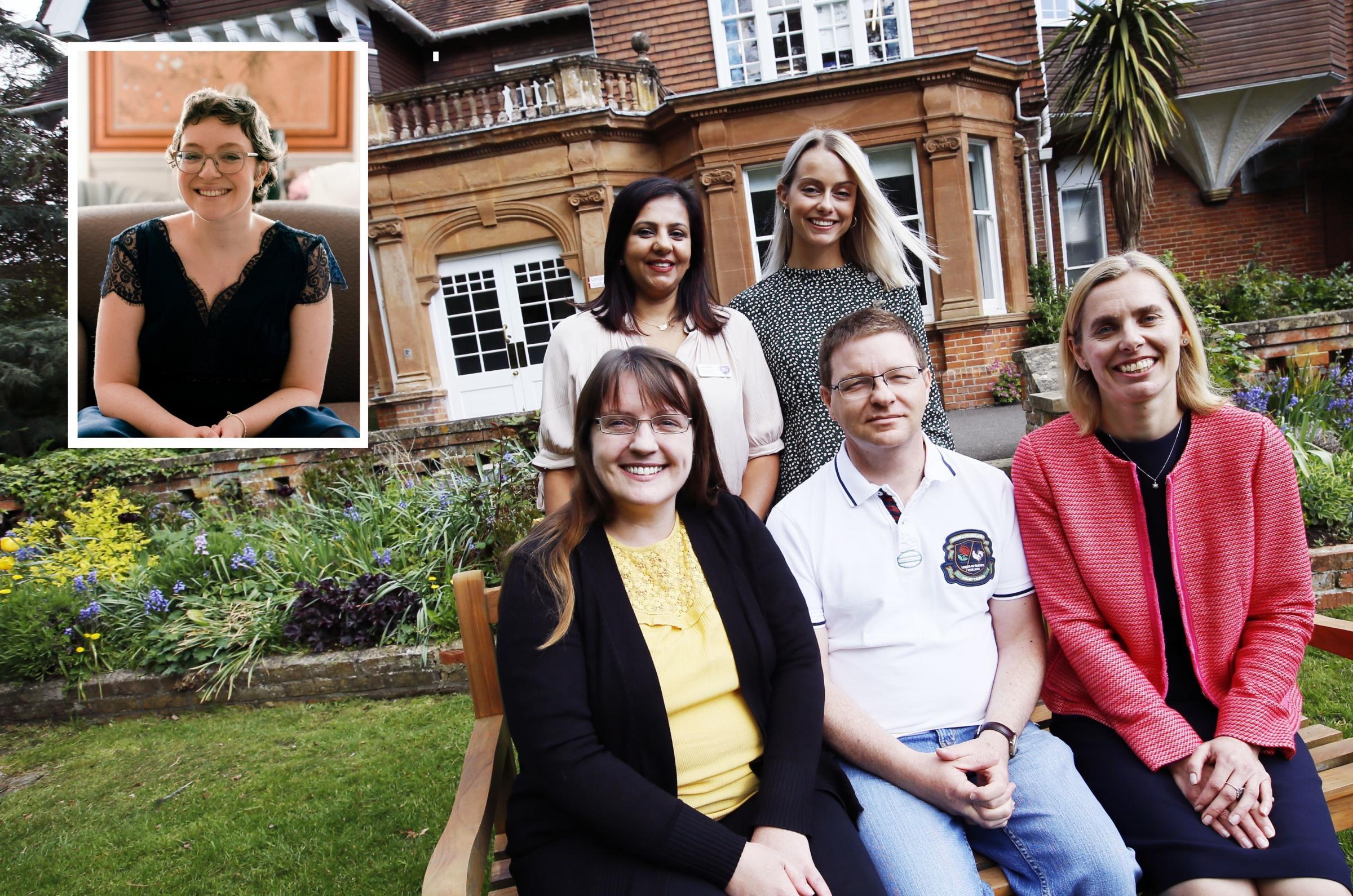 Rebecca Henderson who kept heart in a rucksack inspires appeal