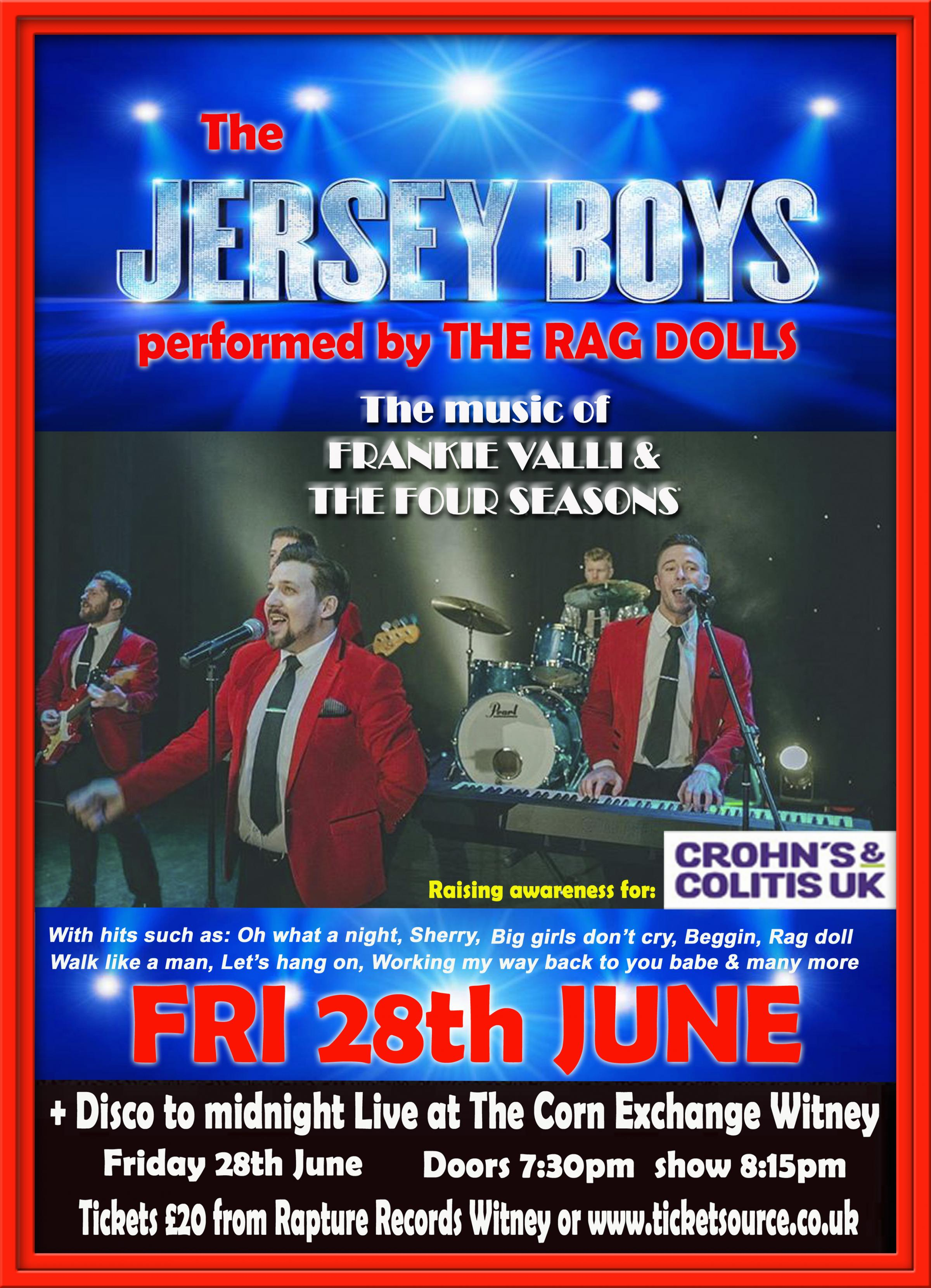 The JERSEY BOYS Tribute Band