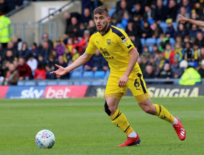 Jamie Hanson made 41 appearances during his first season with Oxford United Picture: Steve Daniels