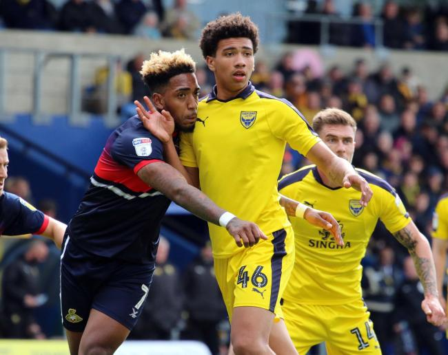 sale retailer 28fc4 5a0c9 Oxford United debut will do wonders for Nico Jones' future ...