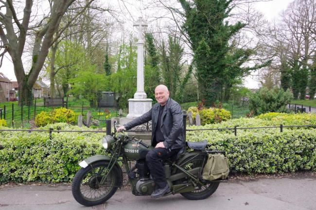 Michael Leahy will travel to Italy on a World War Two motorbike to commemorate the Battle of Monte Cassino that took place between January and May in 1944