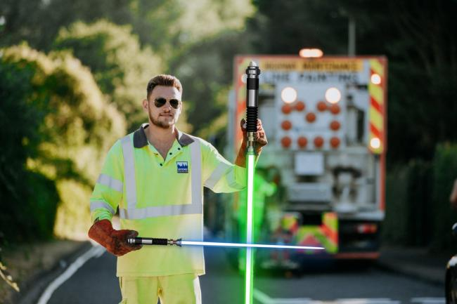 May 4 has come to be known as Star Wars Day. Picture: Oxford Direct Services